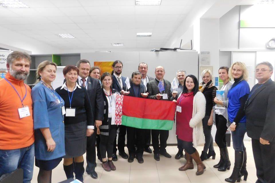 Україна-Білорусь. Міжнародний обмін досвідом