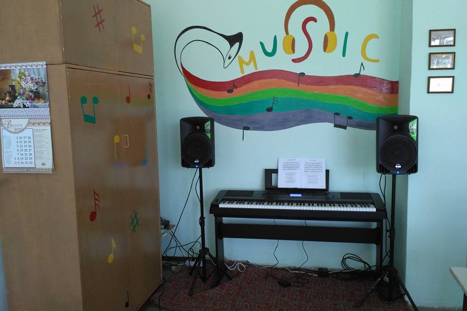 Презентація оновленого класу музики у ЗОШ І-ІІІ ст. № 2