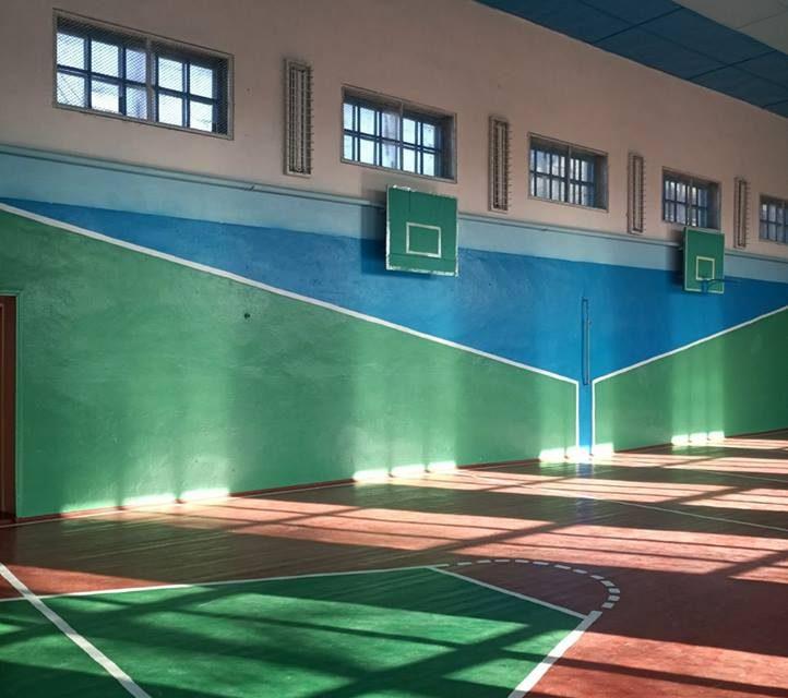 Облаштування спортивного залу Комарівської ЗОШ І-ІІІ ст.