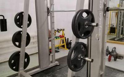 """На КСС з'явився новенький тренажер """"Машина Смітта"""" для роботи на всіх групах м'язів."""