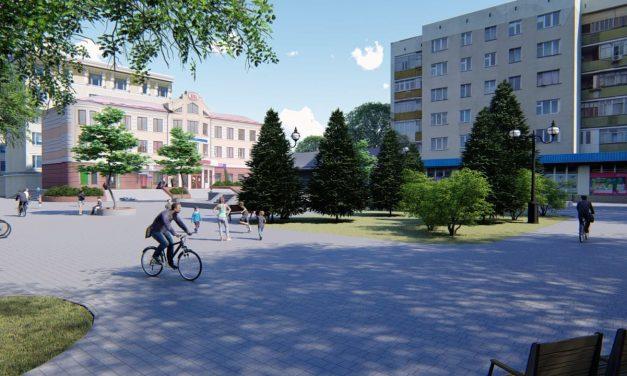 У Бурштині на площі Героїв УПА розпочались демонтажні роботи.